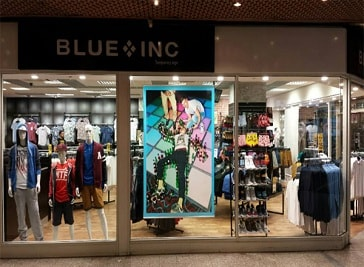 Blue Inc in Ipswich
