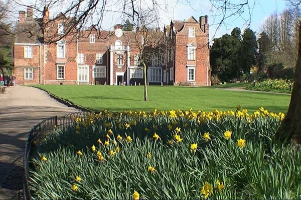 Christchurch Mansion in Ipswich