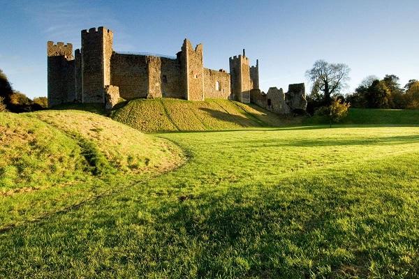 Framlingham Castle in Ipswich